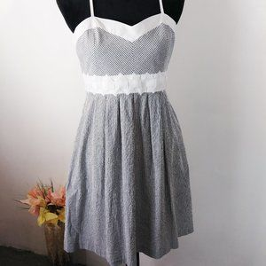 Madison Leigh sundress white-gray size 8